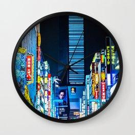 Tokyo 06 Wall Clock