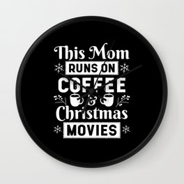 Cute Christmas Gifts for Mom Wall Clock