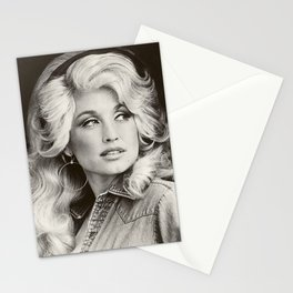 dolly parton young album 2021 atinum1 Stationery Cards