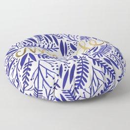 Pardon My French Floor Pillow