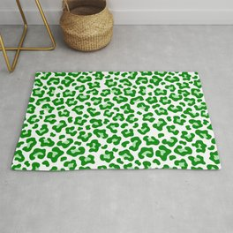 Leopard (Baby Green) Rug