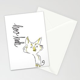 Dirty Dishes Rated G-- Cat Stationery Cards