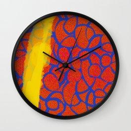 Knitty Gritty Wall Clock