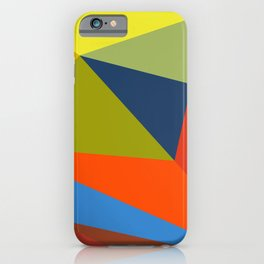 abstract geometric design for your creativity    iPhone Case