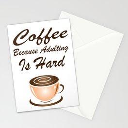 Coffee Mania Stationery Cards