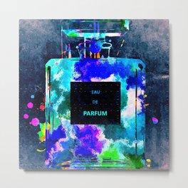 Perfume Dark Grunge Metal Print