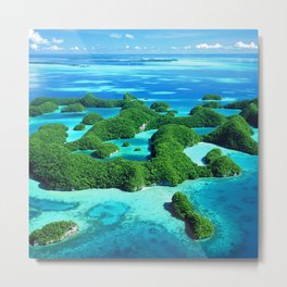 Palau Island Paradise Metal Print