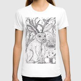 Drunk Jackalope T-shirt