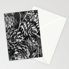 Pine Cone Pileup Stationery Cards