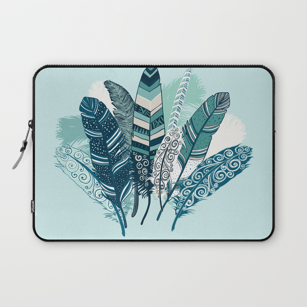 Feather Bouquet Laptop Sleeve LSV7717903