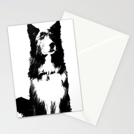 Gal Custom Dog art Stationery Cards