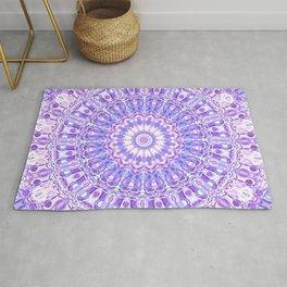 Violet Expansion Mandala Rug