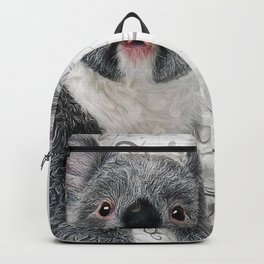 Koala Bear Art Backpack