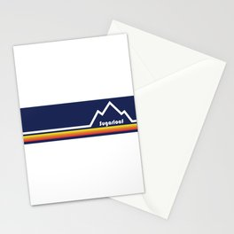 Sugarloaf Mountain, Maine Stationery Cards