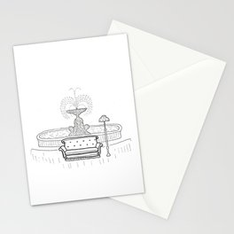 Friends - the one with the sofa Stationery Cards