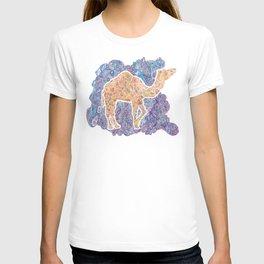Kaleidoscope Camel T-shirt