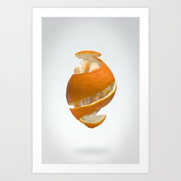 Flying Tangerine Art Print
