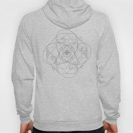 Fibonacci Geometric Mandala Hoody