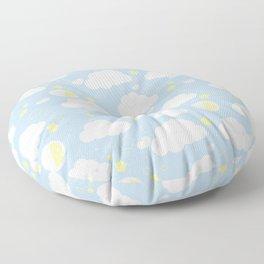 Sleepy clouds Floor Pillow