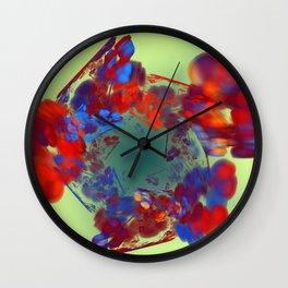 The Flower I Love Wall Clock