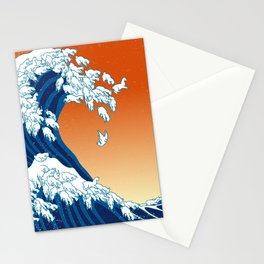 Llama Waves Stationery Cards