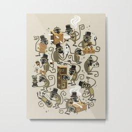 Monkey Magic Metal Print