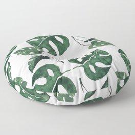 Monstera Floor Pillow