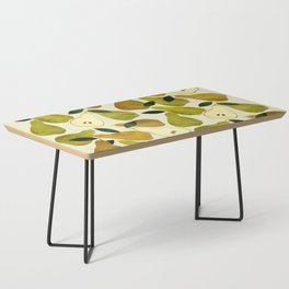 mediterranean pears watercolor Coffee Table