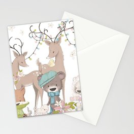 Sugar and Spice Christmas Stationery Cards