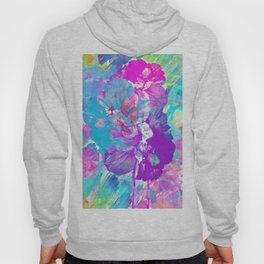 Floral Abstract 92 Hoody