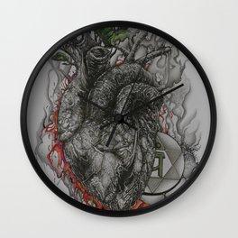 Ephemeral Eternity Wall Clock