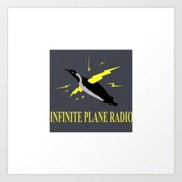 Infinite Plane Radio Art Print