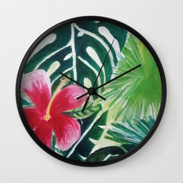 The Tropix Wall Clock