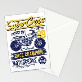 Super Cross Kick Start Community Stationery Cards