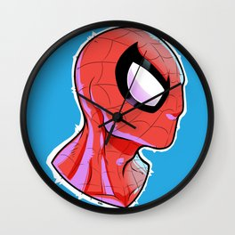 The Amazing Spider-Bust Wall Clock