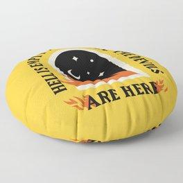 Hell Is Empty Floor Pillow