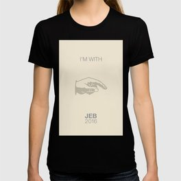I'm with Jeb 2016 T-shirt