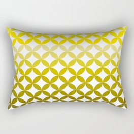 Abstract geometric pattern autumn colours Rectangular Pillow