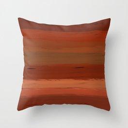 Autumn Sunset III Throw Pillow