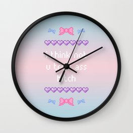 i think not Wall Clock