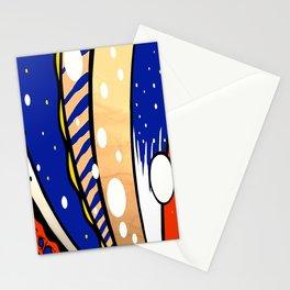 Bubbles &Stripes Stationery Cards