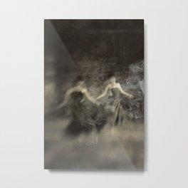 Dance in smoke Metal Print