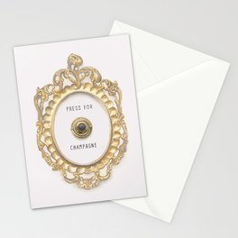 Press For Champagne Stationery Cards