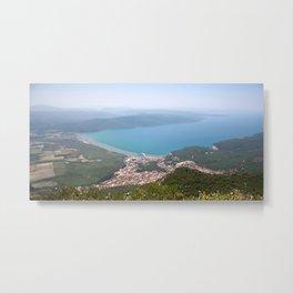 The Gulf of Gökova and Akyaka Town Metal Print