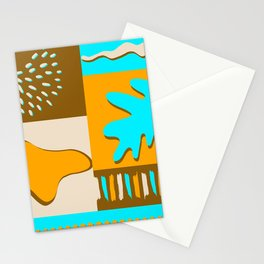 Bright landscape Stationery Cards