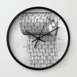 Ornamenting Toilet Paper Roll Wall Clock