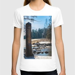 Mississippi Headwaters in December T-shirt