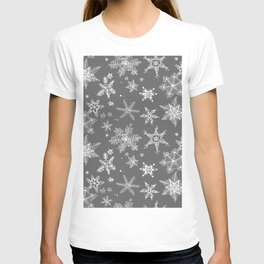Snow Flakes 08 T-shirt