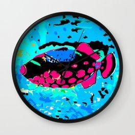 Clown Trigger Fish Wall Clock