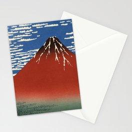 Katsushika Hokusai - South Wind, Clear Sky  Stationery Cards